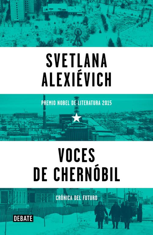 portada libro voces de chernobil